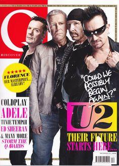 U2 - Q Magazine (december 2011) #bono #theedge #larrymullen #adamclayton #u2 #music #rock #qmagazine