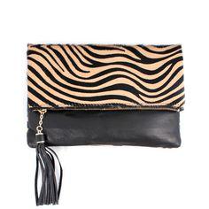 Accessori moda: Borse piccole Donna 2383 Tigrato