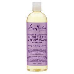 SheaMoisture Lavender & Wild Orchid Bubble Bath & Body Wash - 16 fl oz, Gold