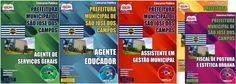 Apostilas Concurso Prefeitura do Município de São José dos Campos / SP - 2015: - Cargos: Agente de Serviços Gerais, Agente Educador, Assistente em Gestão Municipal e Fiscal de Posturas e Estética Urbana