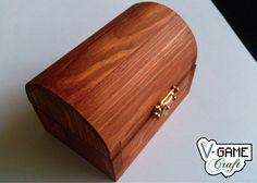 Cofre Pequeño de Madera de Pino. por VGameCraft en Etsy