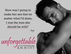 Unforgettable, a Heart of Stone series spinoff novel, coming October 11, 2015!