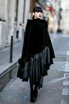 Paris fashion week snap