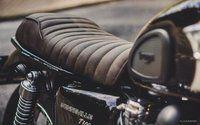 SELLES - pour motos Triumph Hinckley Bonneville, Scrambler, Thruxton et Café Racer