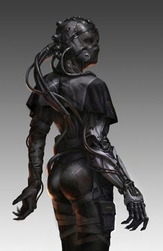 boss 2 by mitchell mohrhauserExotique: The World's Most Beautiful CG Characters metal things people