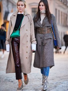 Kicking off 2018 in style, it's the Scandi crew at Stockholm Fashion Week. Here are the best street style looks from the chilly Swedish city.