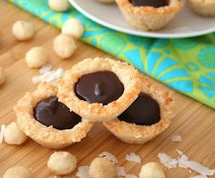 Low Carb Macadamia Nut Tarts | All Day I Dream About Food