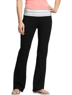 Old Navy Womens Fold Over Yoga Pants Old Navy. $19.50