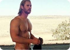 Thor..not Chris Hemsworth...Thor.