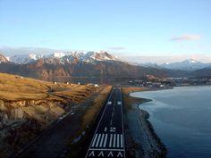 DUT Unalaska/Dutch Harbor Airport, Alaska, USA