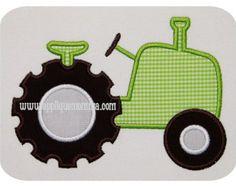 ganchillo manta del bebé carro apliques por GrammysCustomCrochet