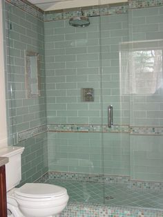 Glass Shower Tile Tile Showermaybe Not The Same Tile As The Floor Thoughlooks .