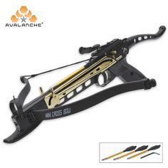 Cobra Self Cocking Tactical Crossbow Pistol 80-lb.   BUDK.com - Knives & Swords At The Lowest Prices!