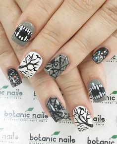 Halloween nail art-63 - 65 Halloween Nail Art Ideas  <3 <3