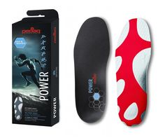 For the best foot control  whilst running. pedag power is fully mouldable with support and impact zones