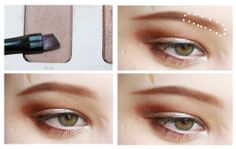 How to fill in light eyebrows