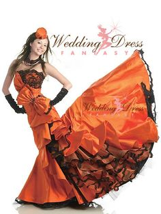 Halloween wedding dress anyone!