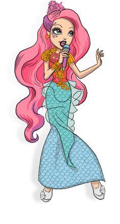 Meeshell mermaid-filha da  pequena sereia