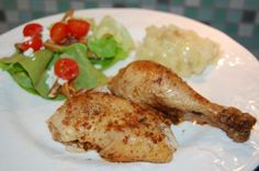 Amazing chicken in the crock pot recipe from 100 Days of Real Food blog. It's become a new favorite for us.
