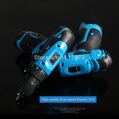 Cordless drill Rechargeable Lithium Battery 25V electric drill bit household electric screwdriver power tool + accessories