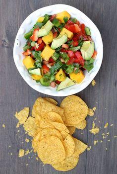 Mango - Avocado Salsa