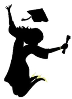 Tenisha graduation  party Graduation Cartoon, Graduation Images, Graduation Decorations, Graduation Cards, College Graduation, Graduation Templates, Graduation Silhouette, Illustration Mignonne, Bachelor