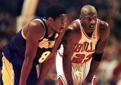 Whatever advice MJ gave Kobe, it's safe to say that Kobe applied it.