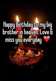 Happy Birthday Brother Image Result For Brother In Heaven Memes Https Askbirt Happy Birthday In Heaven Brother Birthday Quotes Birthday Wishes For Brother