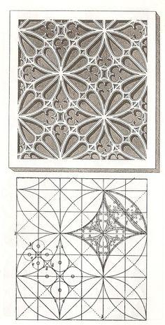 Готический орнамент - геометрия и искусство