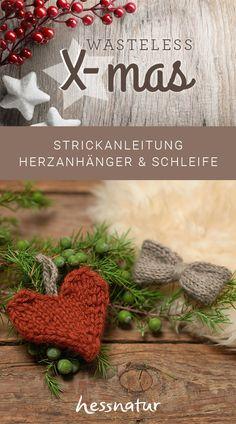 Die einzigartige Qualität unserer Alpaka-Wolle hat uns auf eine ganz besondere Idee gebracht – luxuriöse Stricksets, mit denen auch AnfängerInnen im Handumdrehen warme Lieblingsstückezaubern können. Eine Strickanleitung für Herzanhänger und Schleife findet ihr in unserem Magazin. #stricken #strickset #alpakawolle #diy Crochet Earrings, Ribbon Work