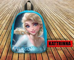 Princess Elsa Frozen Design for School Bag Backpack for Children Small size Middle size Large size