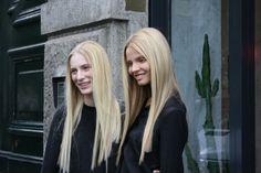 Magdalena and Julia Ice Blonde, Golden Blonde, Dark Blonde, Valley Girls, Shades Of Blonde, Barbie Dream House, Hair Beauty, Beautiful Women, Dreadlocks