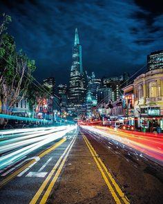 a night stroll through the city never looked so good #sanfrancisco #sf #bayarea #alwayssf #goldengatebridge #goldengate #alcatraz #california
