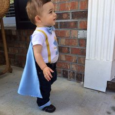 Prince satin cape with a custom name added-first by ByEllenBaby
