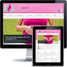 Brookhaven Associates website built with Wordpress using responsive web design.