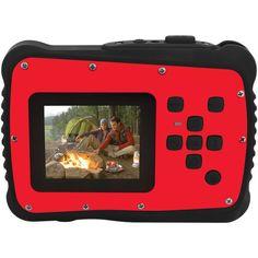 Coleman C6Wp-R 12.0-Megapixel Minixtreme Hd Video Waterproof Digital Camera (Red)