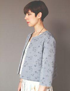Veste Bernadette /Patron de couture www.republiqueduchiffon.com