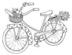 bicycle digital stamp