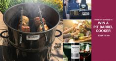 Win a Pit Barrel Cooker Smoker & Grill OR a $350 Cash... IFTTT reddit giveaways freebies contests