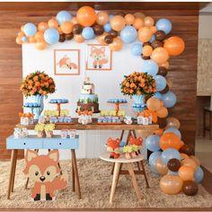 Nenhuma descrição de foto disponível. Idee Baby Shower, Boy Baby Shower Themes, Baby Shower Balloons, Baby Shower Parties, Baby Boy Shower, Spongebob Birthday Party, Baby Boy 1st Birthday Party, Baby Party, Birthday Party Decorations