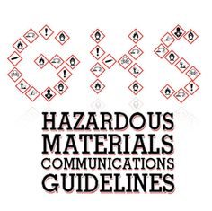 GHS hazardous materials communications guidelines for employers: Practical view of OSHA standards, training, and compliance requirements by LBA University Hazard Communication, Hazardous Materials, Workplace, Safety, University, Tech, Words, Security Guard, Colleges