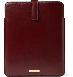 Alexander McQueenLeather iPad 2 Case|MR PORTER