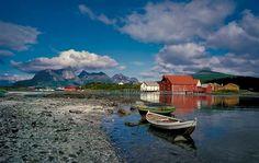 Kjerringøy, the old trading post outside Bodø, Norway
