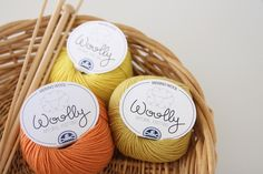 Image of DMC Woolly - Luxurious Oranges and Yellows