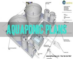 A few years agowe were contracted to draw up some plans for a commercial aquaponics pilot plans to one of our customers specifications. This is a very low cost aquaponic system using some basic items…