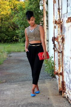 RECYCLING FASHION: leopard crop top