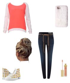 """""""Untitled #53"""" by mercedes-may-mccoy ❤ liked on Polyvore featuring Sandro, Lee, Missguided and AERIN"""
