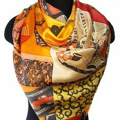 Retro Vibes Silk Batik Shawl #sexy #gift #forher #march8 #love #fashion #russian
