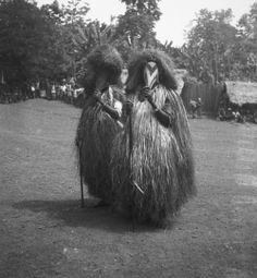 Igbo dance masks, G. I. Jones, 1930s.