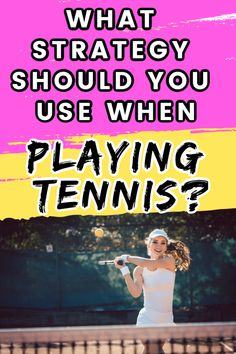 Whether you are playing double or singles tennis it is important to have a tennis strategy when you head into a match. Try these tennis strategy tips to win more matches during the season. Tennis Equipment, Tennis Gear, Tennis Tips, Sport Tennis, How To Play Tennis, Tennis Funny, Tennis Accessories, Tennis Workout, Tennis Quotes